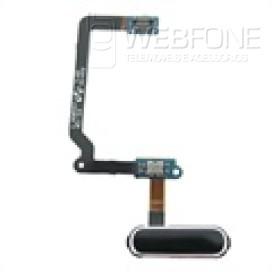 Samsung S5 - Bot�o Home flex cabo OEM Azul