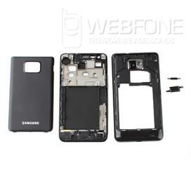 Samsung S2 - Quadro m�dio chassis e capa bateria Preto