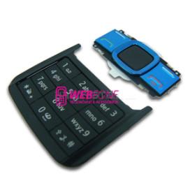 Teclado Nokia 7100S Azul e Preto