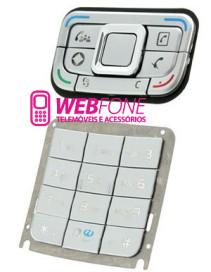 Teclado Nokia E65 Cinza