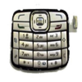 Teclado Nokia N70 Cinza