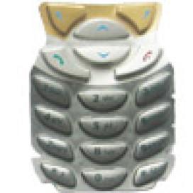 Teclado Nokia 6310 e 6310i Dourado