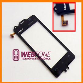Touchscreen Nokia 5530 Preto