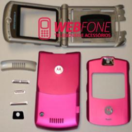 Capa Motorola V3i Pink Completa