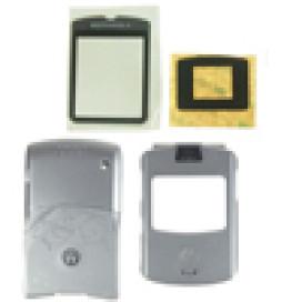 Capa Motorola V3 Cinza