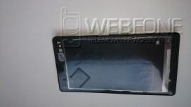 Middle Frame Sony Xperia Z Preto